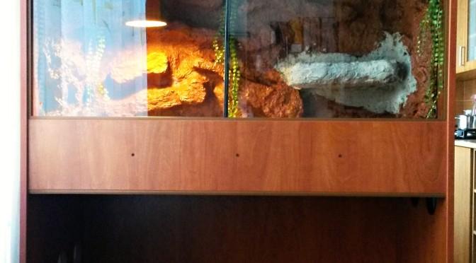 Terarium z lamina